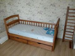 Акция на детскую односпальную кровать Карина Люкс