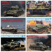 Assembled model tanks kits for bonding