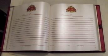 Feedback and suggestion books (guestbook)