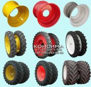 Tractor discs wide narrow double