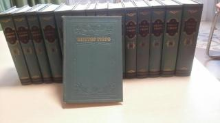 Victor Hugo.Collected works in 15 volumes
